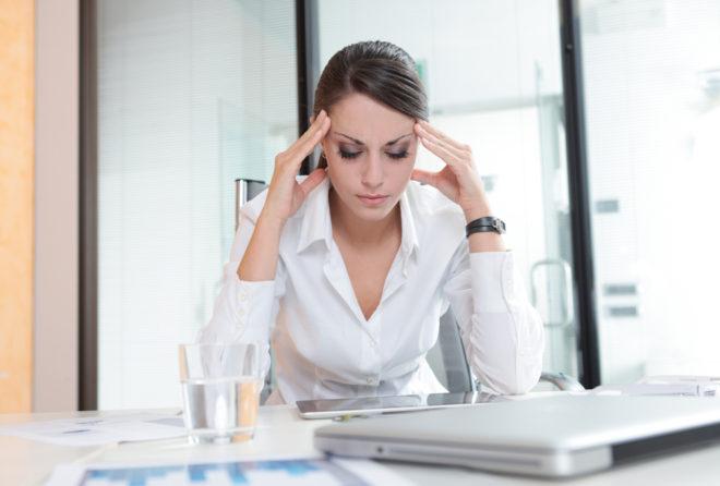 давление от стресса