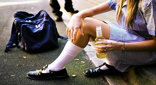 злоупотребление алкоголем и курение