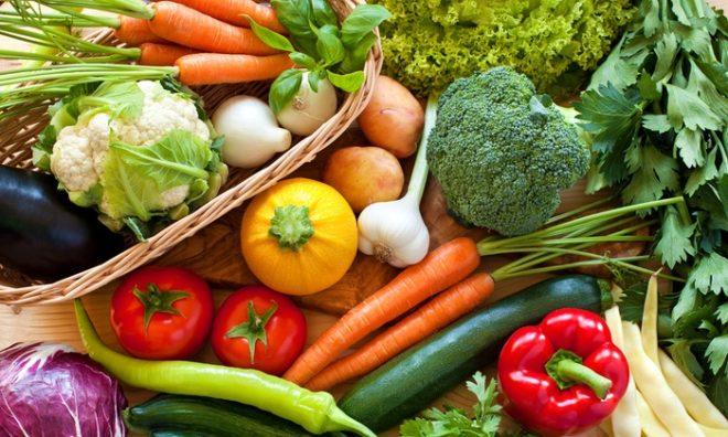 железо в овощах
