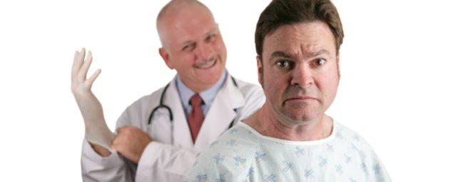 врач хочет взять анализ