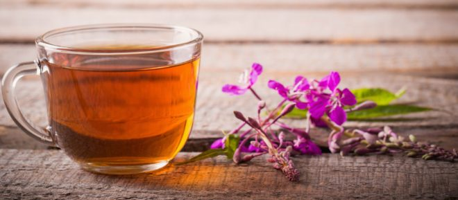 полезные травяной чай