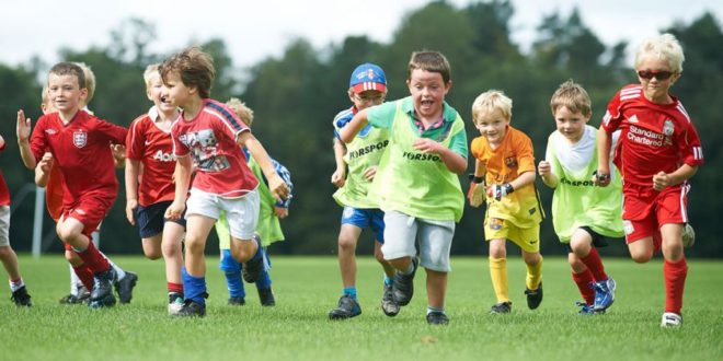 занятия спортом у детей