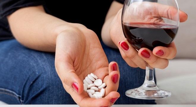 алкоголь и лекрства