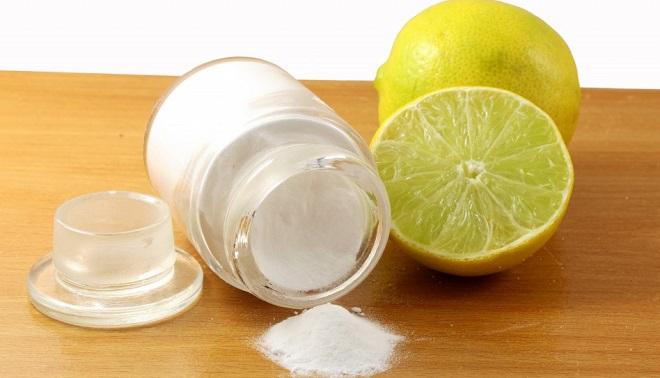 маска соды с лимоном от прыщей