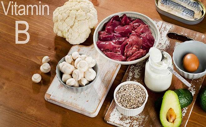 продукты содержащие витамин B