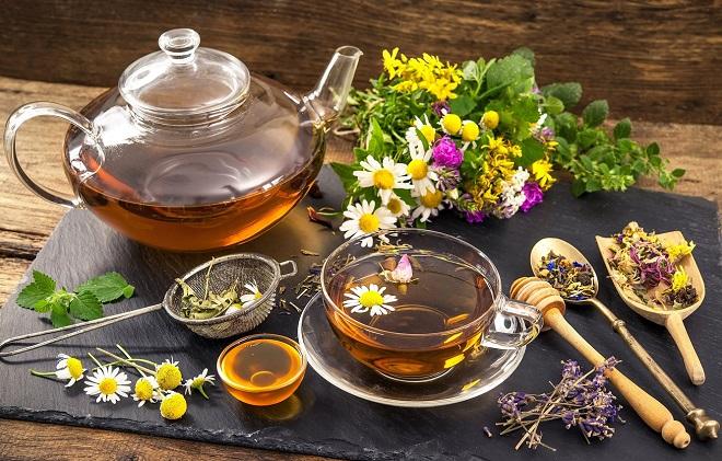 чай из ромашки с медом