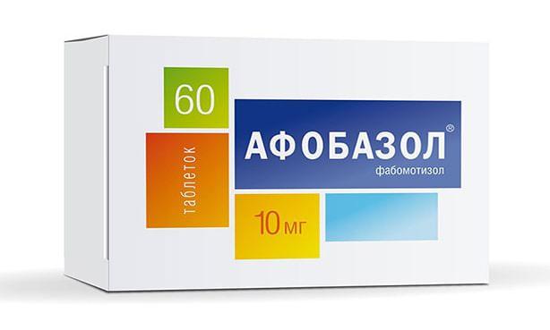 Афобазол, таблетки