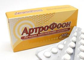 Как принимать таблетки Артрофоон для лечения суставов