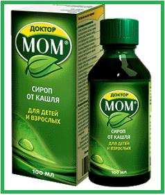 Доктор Мом сироп: инструкция по применению