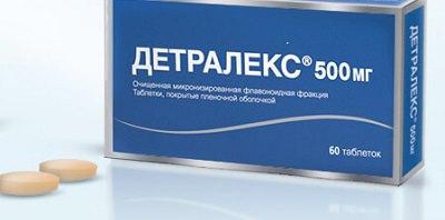 Таблетки Детралекс 500 мг: цена, инструкция и аналоги подешевле