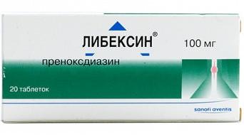 Как принимать Либексин от кашля: инструкция к препарату