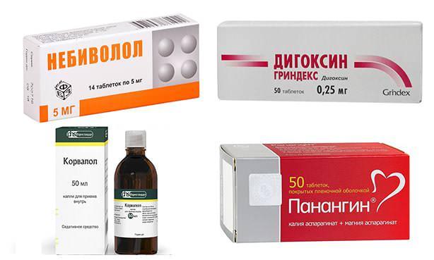 Группа лекарств при тахикардии