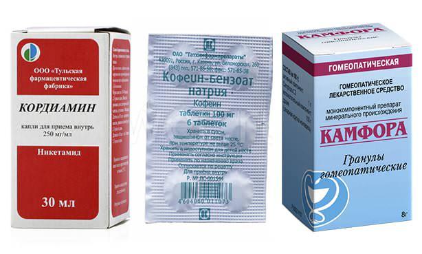 Лекарства группы аналептиков