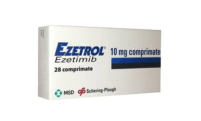Эзетимиб (эзетрол)