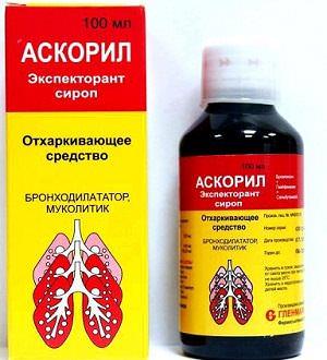 Таблетки и сироп Аскорил: инструкция по применению