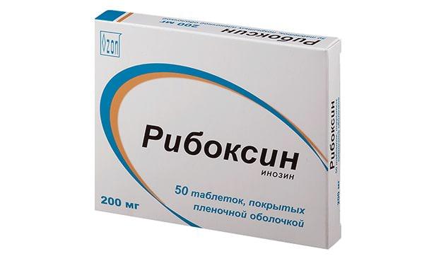 Рибоксин, таблетки