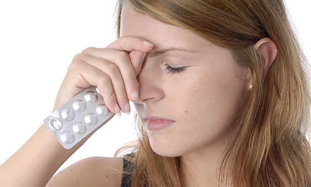 Головная боль, таблетки