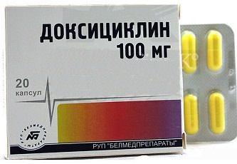 Доксициклин: инструкция и отзывы людей