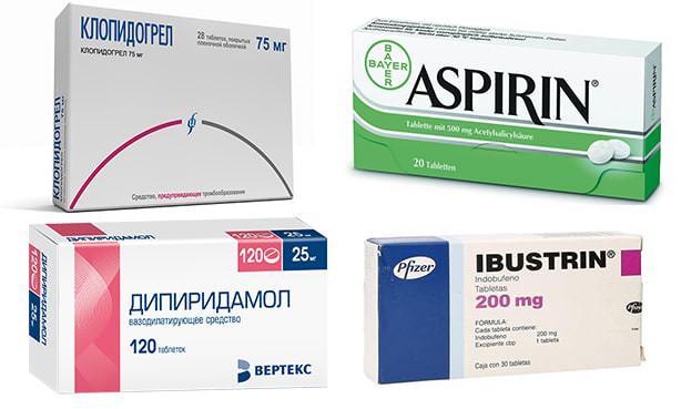 Препараты-антиагреганты