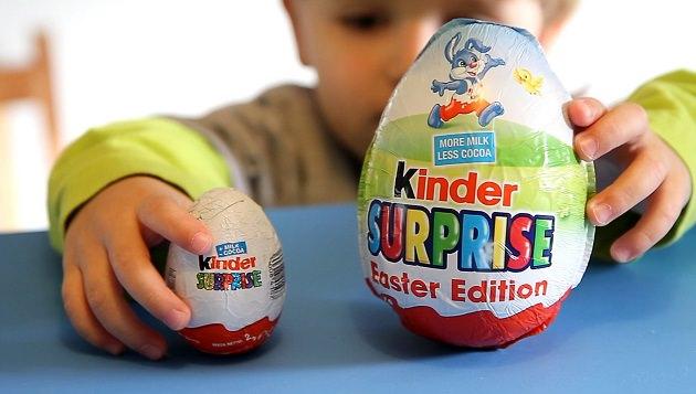 Киндер сюрприз для ребенка