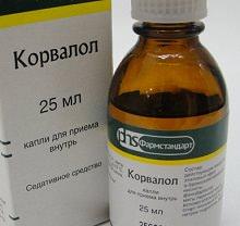 Таблетки и капли Корвалол: инструкция по применению