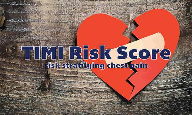 TIMI риск инфаркта