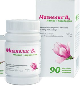 Магнелис В6 препарат для восстановления дефицит магния в организме
