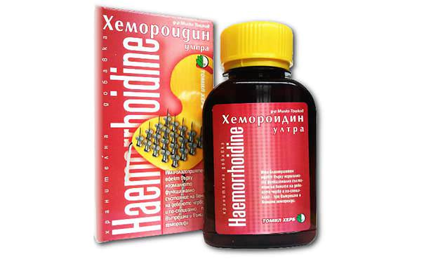 Хемороидин