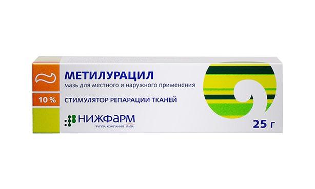 Метилурацил, мазь