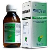 Как принимать сироп Бронхолитин от кашля