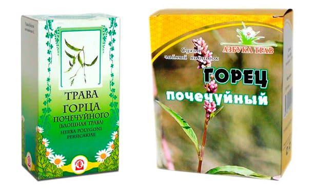 Горец почечуйный, аптечная трава