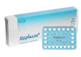 Марвелон пероральный контрацептив