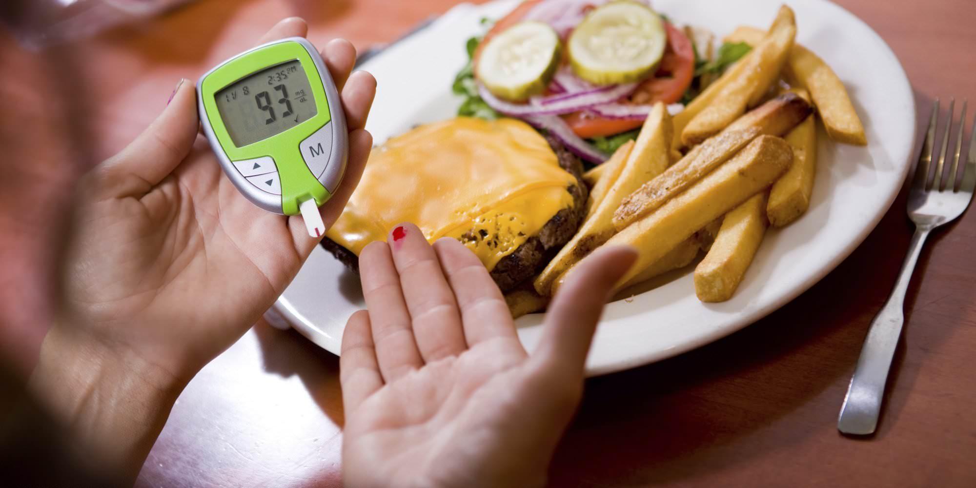 Определение уровня глюкозы в крови после еды