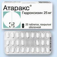 Атаракс: инструкция и отзывы пациентов принимавших препарат