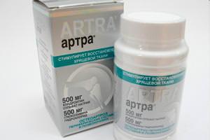 Таблетки Артра: инструкция по применению для хондропротектора