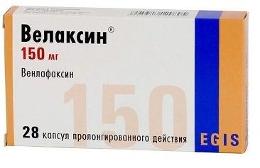 Таблетки Велаксин: инструкция по применению