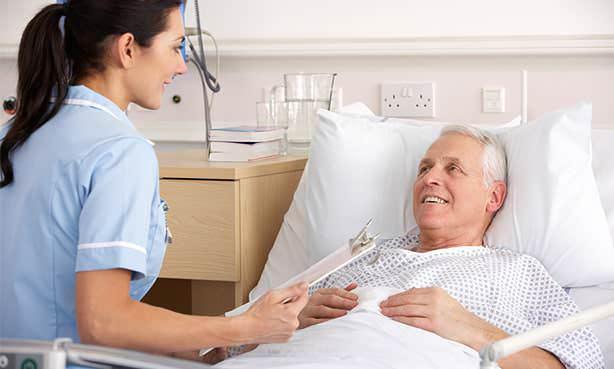 Мужчина после перенесенного инфаркта миокарда со стентированием