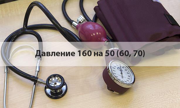 Тонометрия 160 на 50 (60, 70)