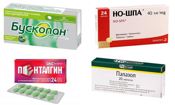 Лекарства спазмолитического действия