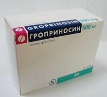 Таблетки Гроприносин 500мг: инструкция, отзывы людей
