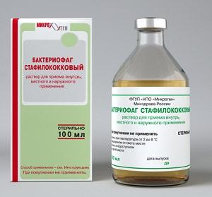 Стафилококковый Бактериофаг: инструкция по применению, отзывы людей