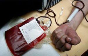 Повышение уровня гемоглобина с помощью переливания крови