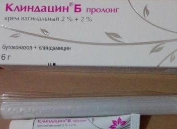 Крем Клиндацин Б ПРОЛОНГ: инструкция по применению