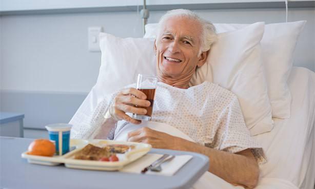 Мужчина после инфаркта