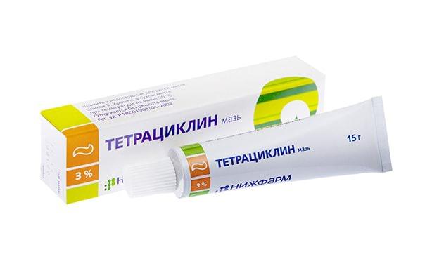 Тетрациклин, мазь