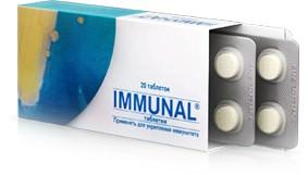 Раствор и таблетки Иммунал инструкция по применению