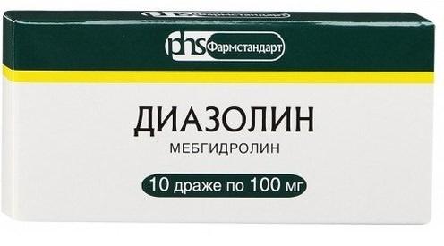 От чего помогает Диазолин: инструкция по применению