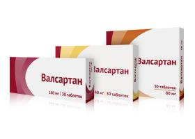Таблетки Валсартан (40, 80 и 160 мг): инструкция и отзывы